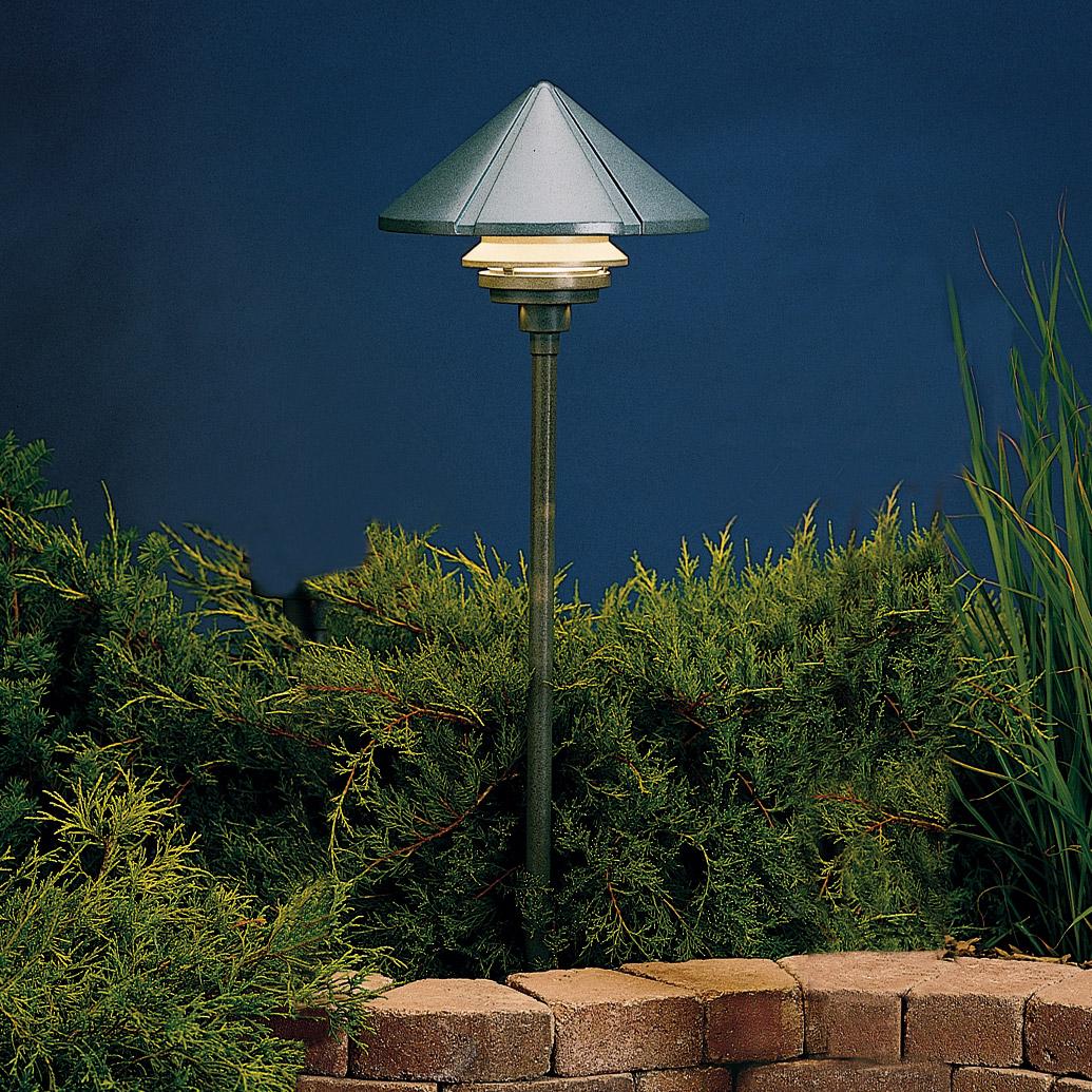 Kichler Landscape Lighting Distributors : Kichler azt six groove v one tier landscape path