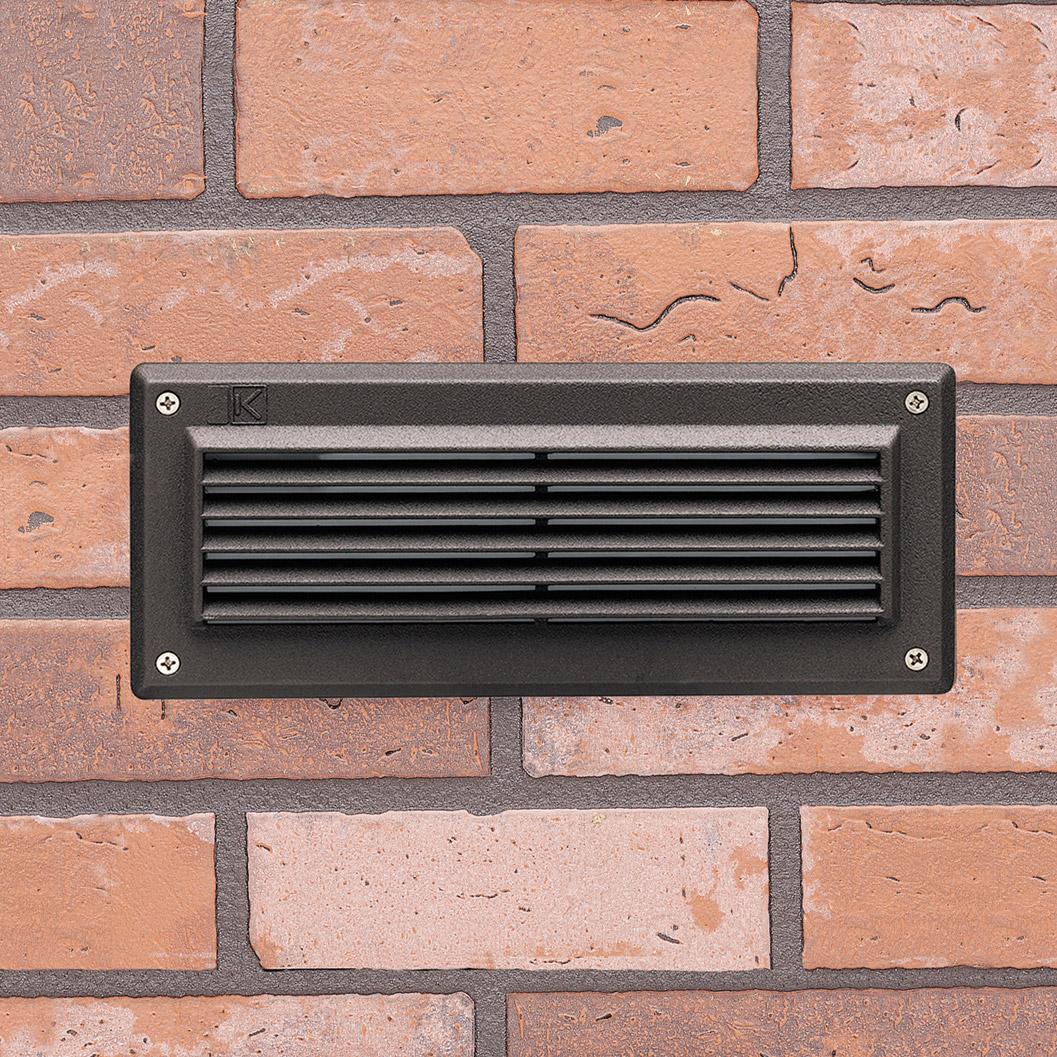 Kichler 15073AZT Outdoor 12V Recessed Brick Light