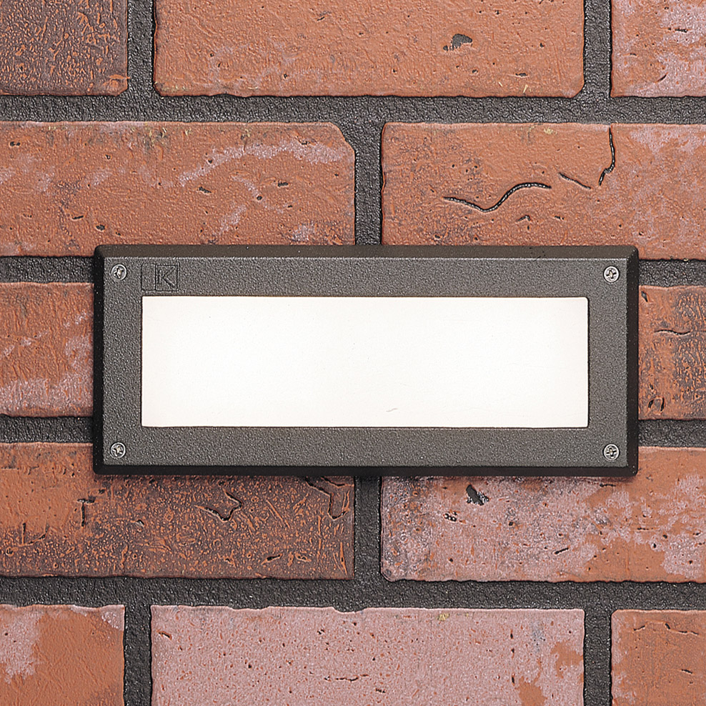 Brick LED Downunder Outdoor Wall Recessed Light By SLV Lighting At Wall Lig