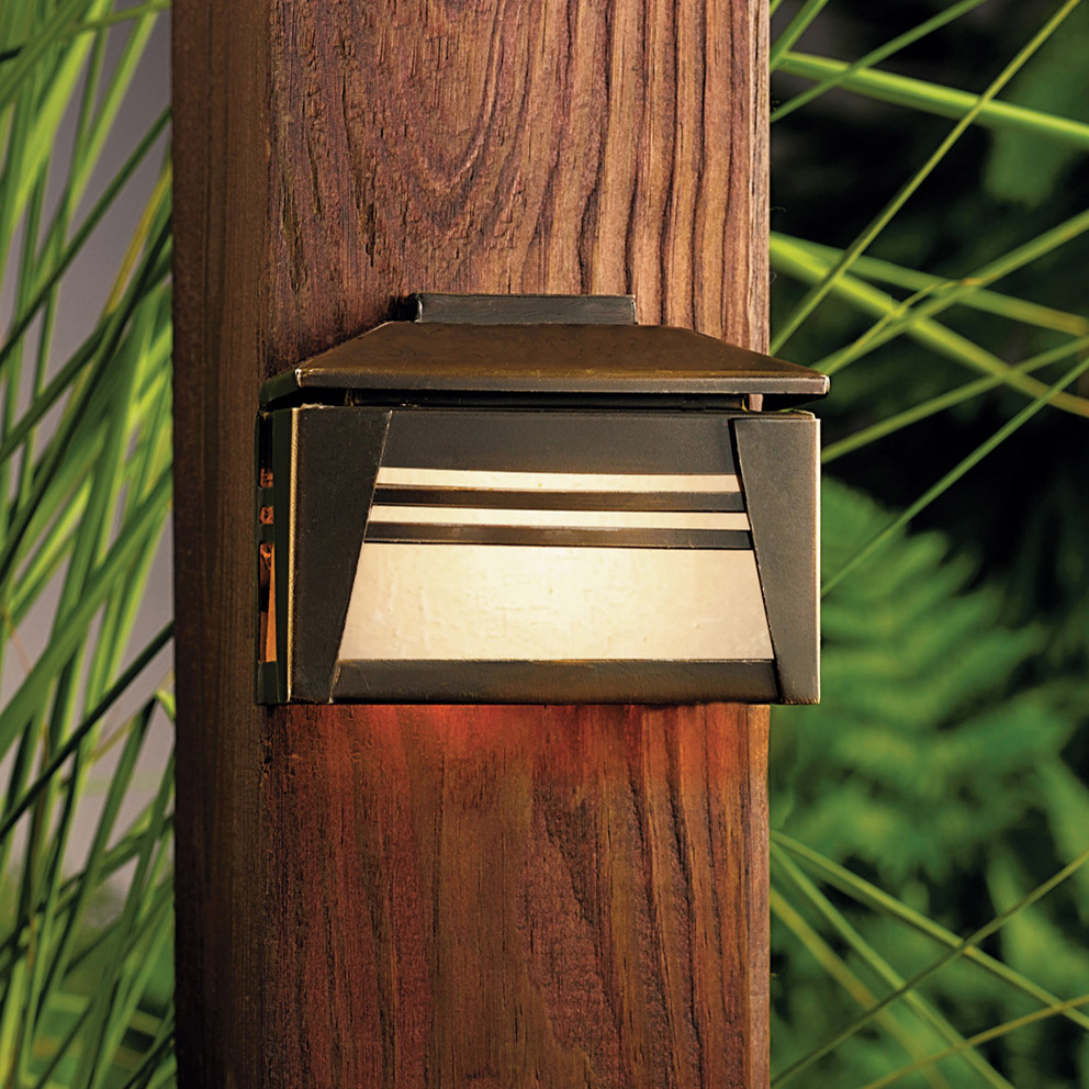 Kichler 15110oz Zen Garden 12v Deck Light