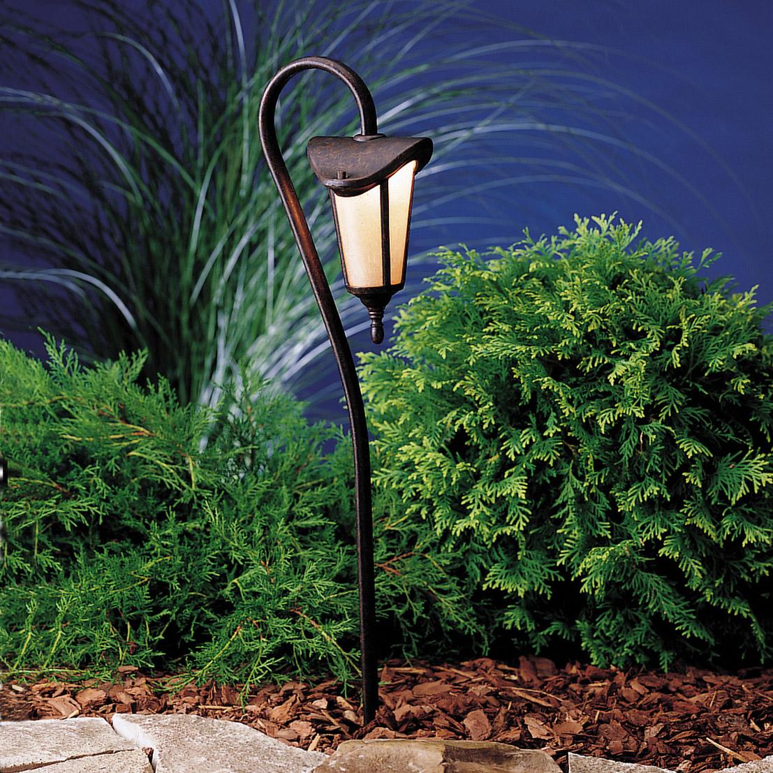 Kichler 15313tzg Lafayette 12v Landscape Path Amp Spread Light