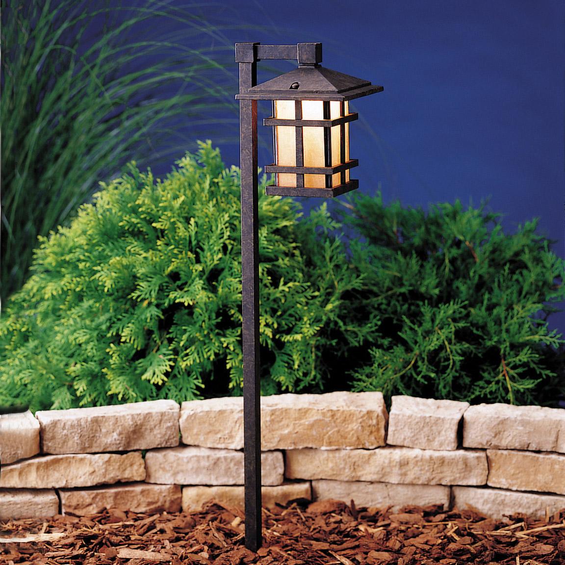 Kichler Landscape Lighting Distributors : Kichler agz cross creek v path spread light