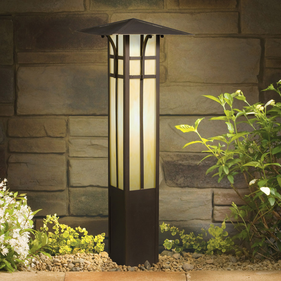 Kichler 15458oz 12v Landscape Mission Bollard Light