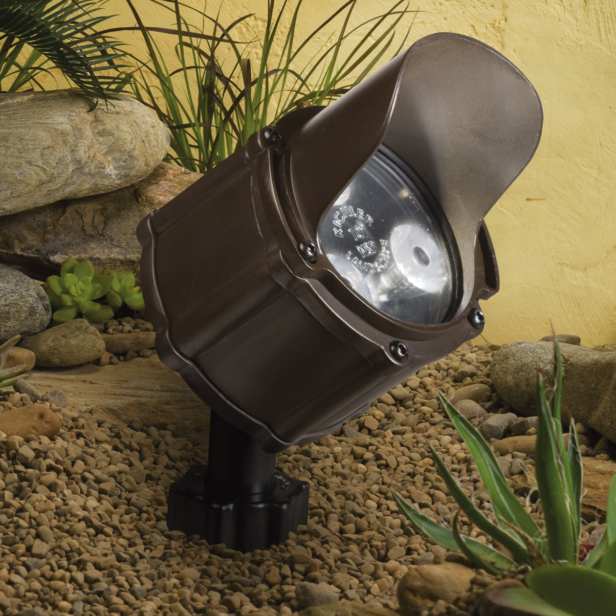 Kichler 15732BBR Landscape LED 12V 4 5Watt 35 Flood Accent Light