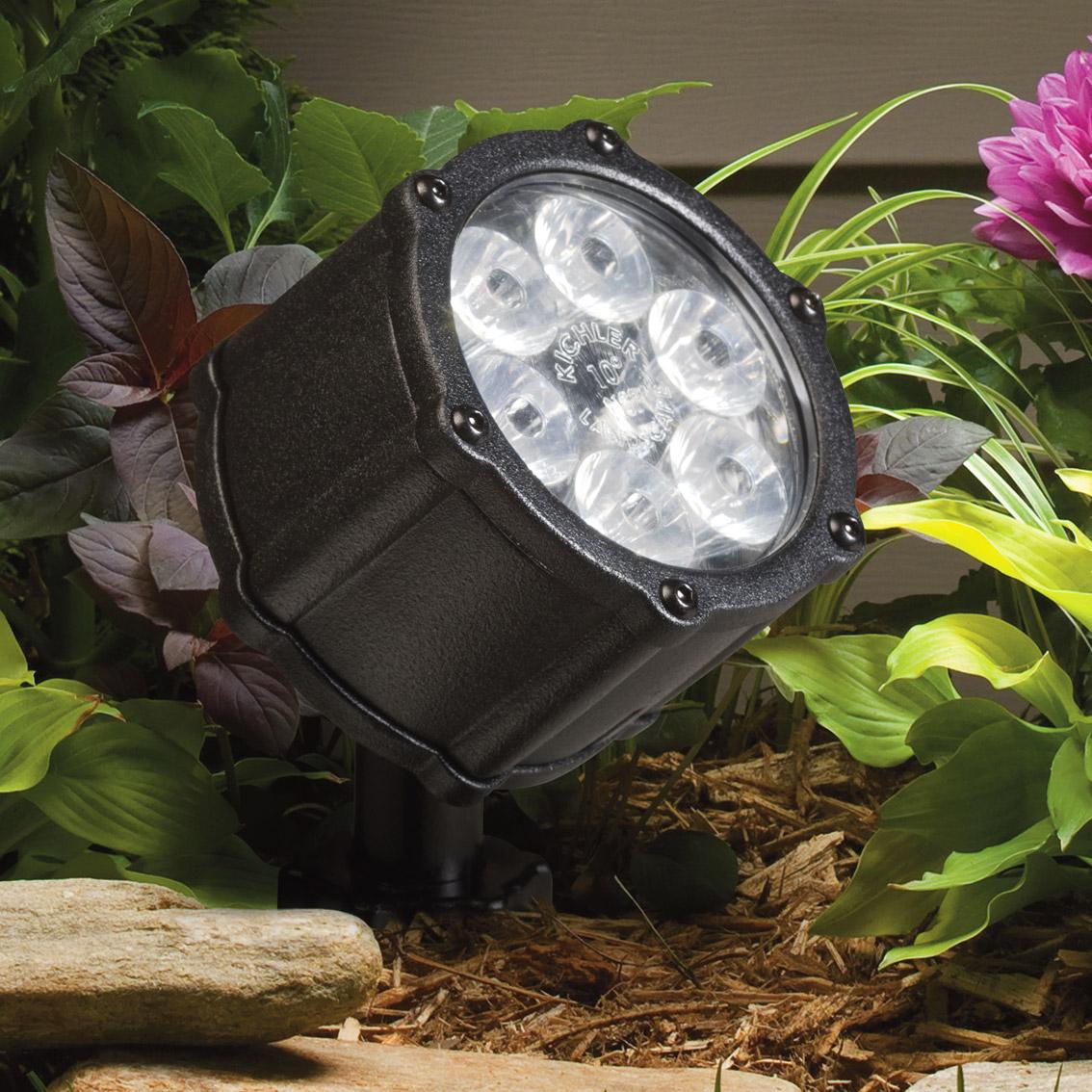 home outdoor lighting landscape lighting kichler 15742bkt. Black Bedroom Furniture Sets. Home Design Ideas