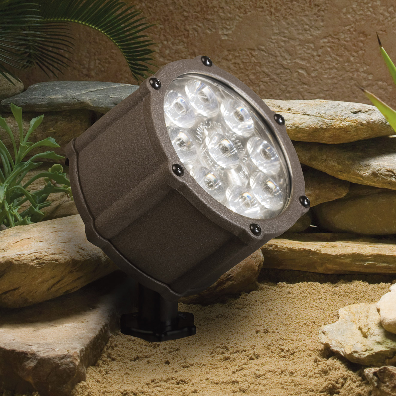 Kichler 15751AZT Landscape LED 12V 12Watt 10 Spot Accent Light