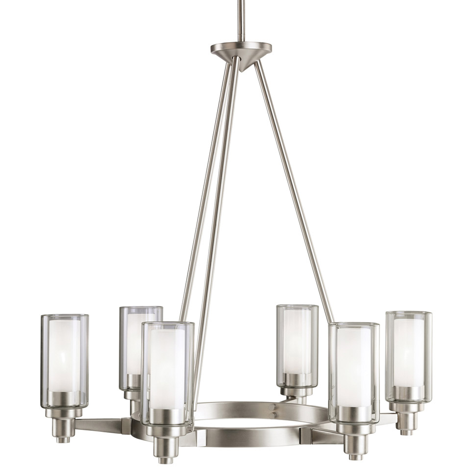 Kichler 2344ni Circolo Six Light Chandelier