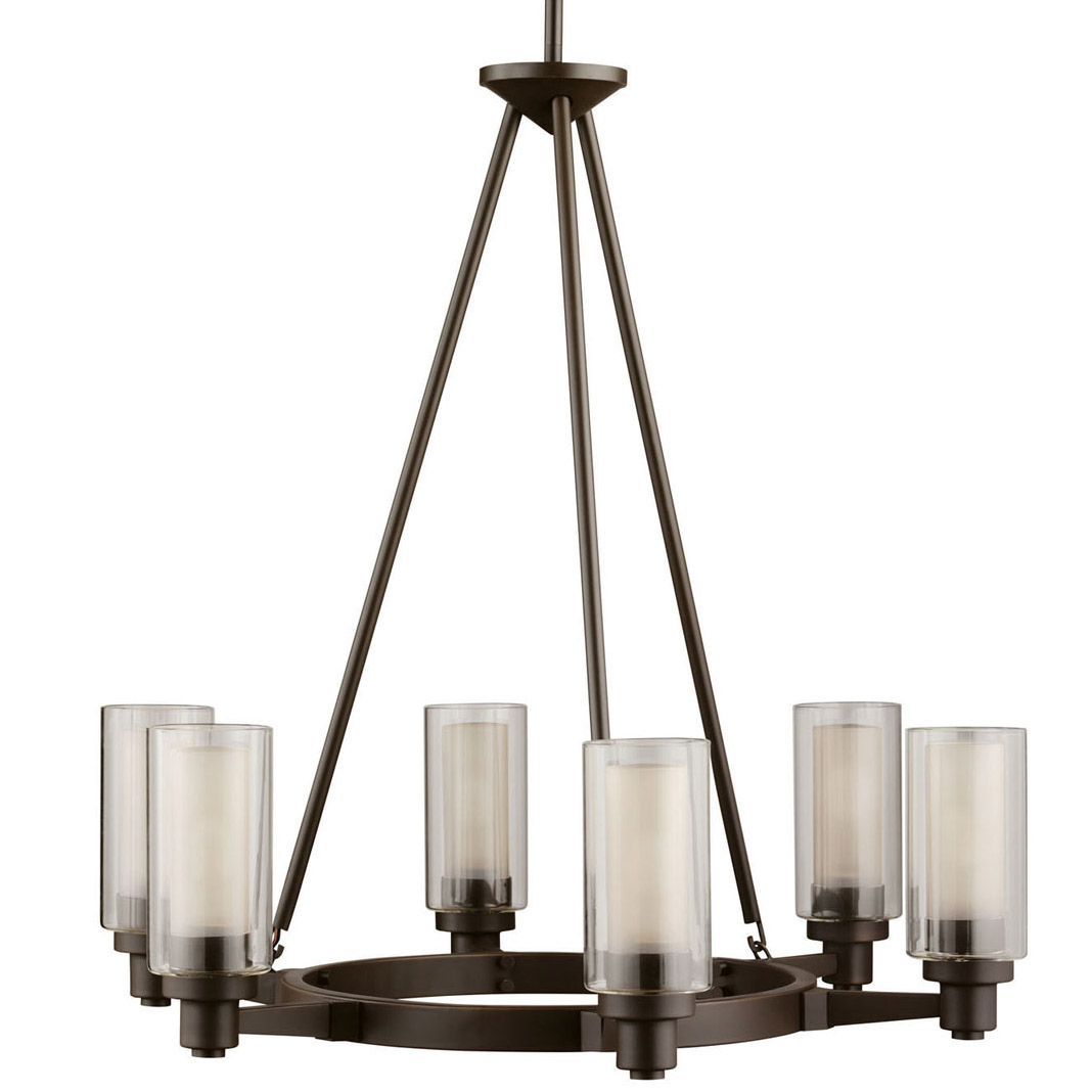kichler 2344oz circolo six light chandelier