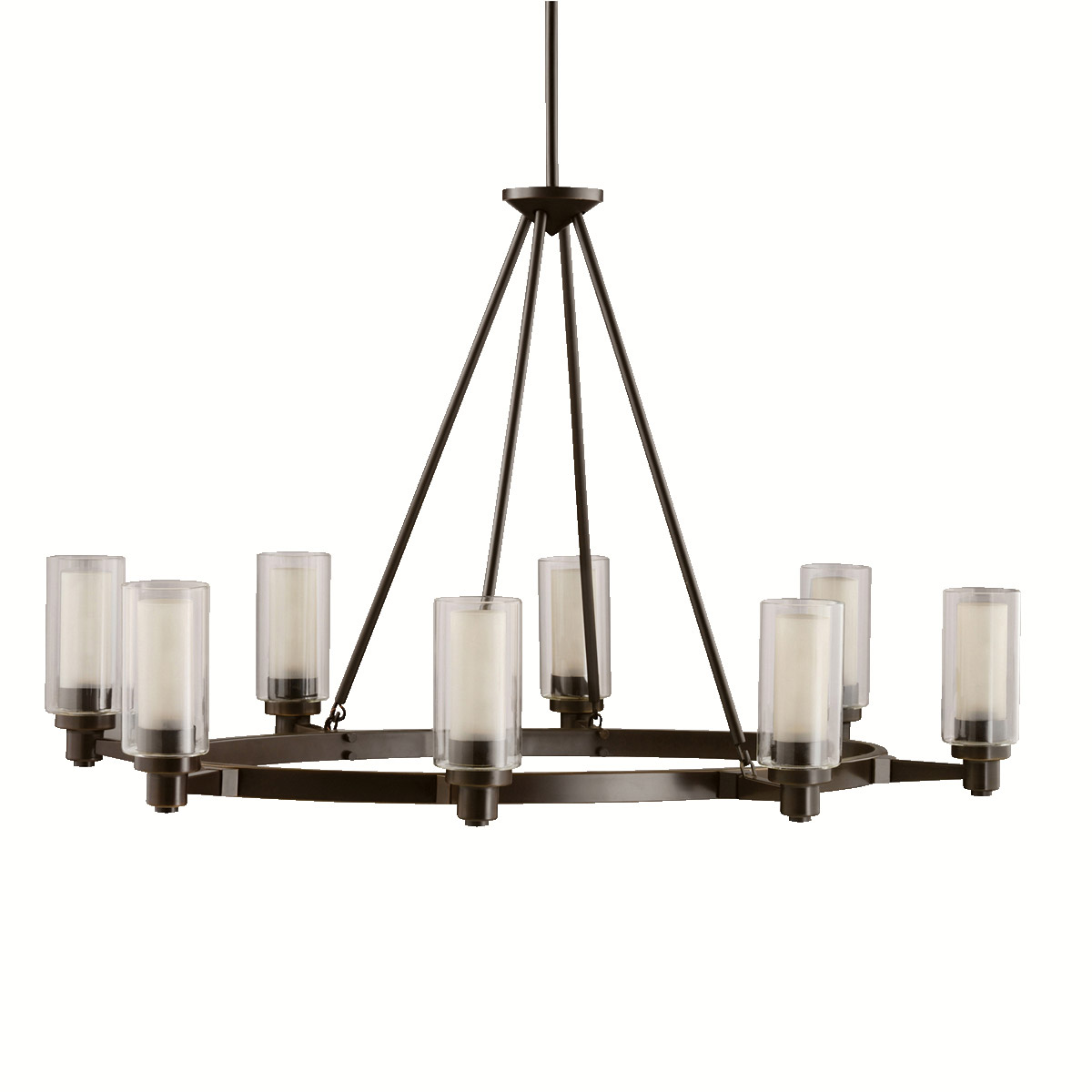 Kichler 2345oz Circolo Eight Light Oval Chandelier