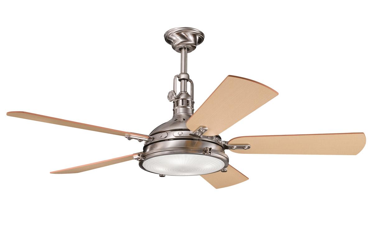 Kichler 300018BSS Hatteras Bay Ceiling Fan