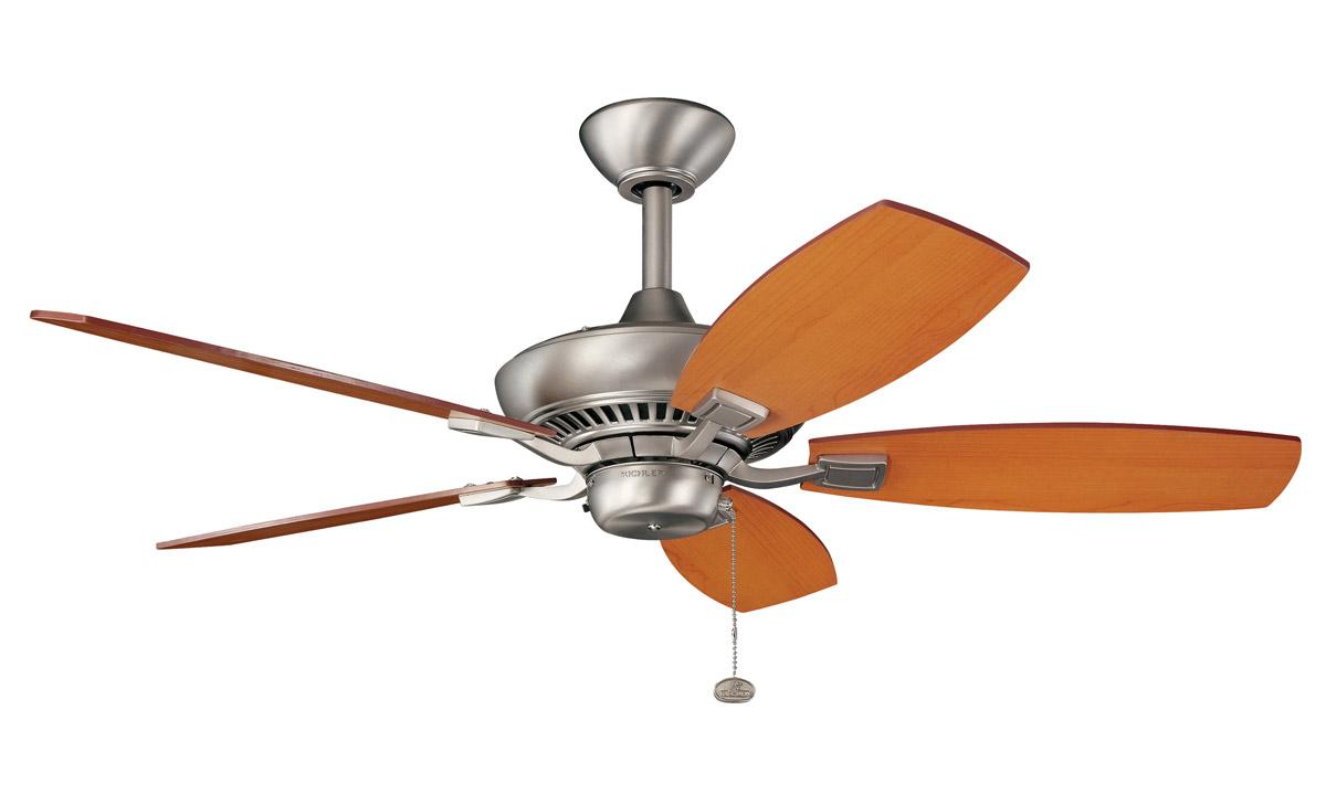 Kichler 300107NI Canfield Ceiling Fan