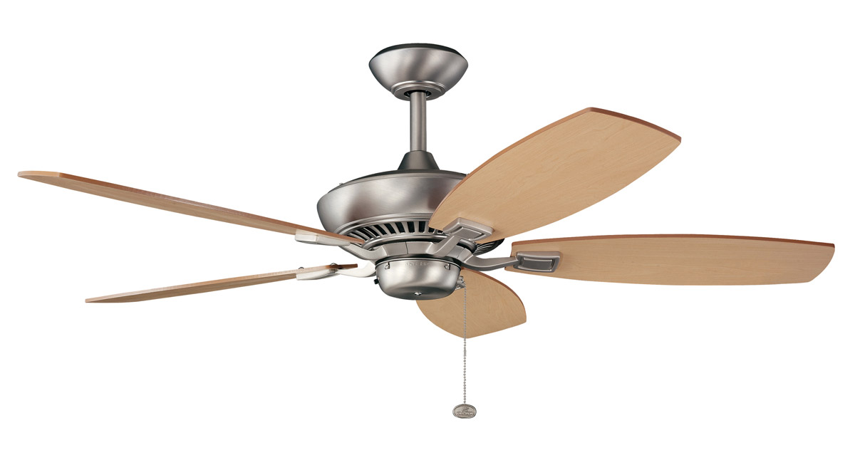 Kichler 300117NI Canfield Energy Star Ceiling Fan