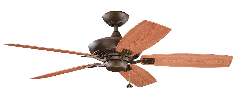 Kichler 310192tzp Canfield Patio Energy Star Ceiling Fan