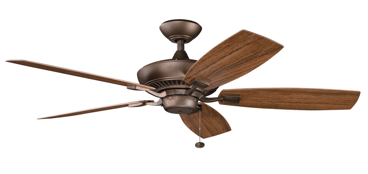 Kichler 310192wcp Canfield Patio Energy Star Ceiling Fan