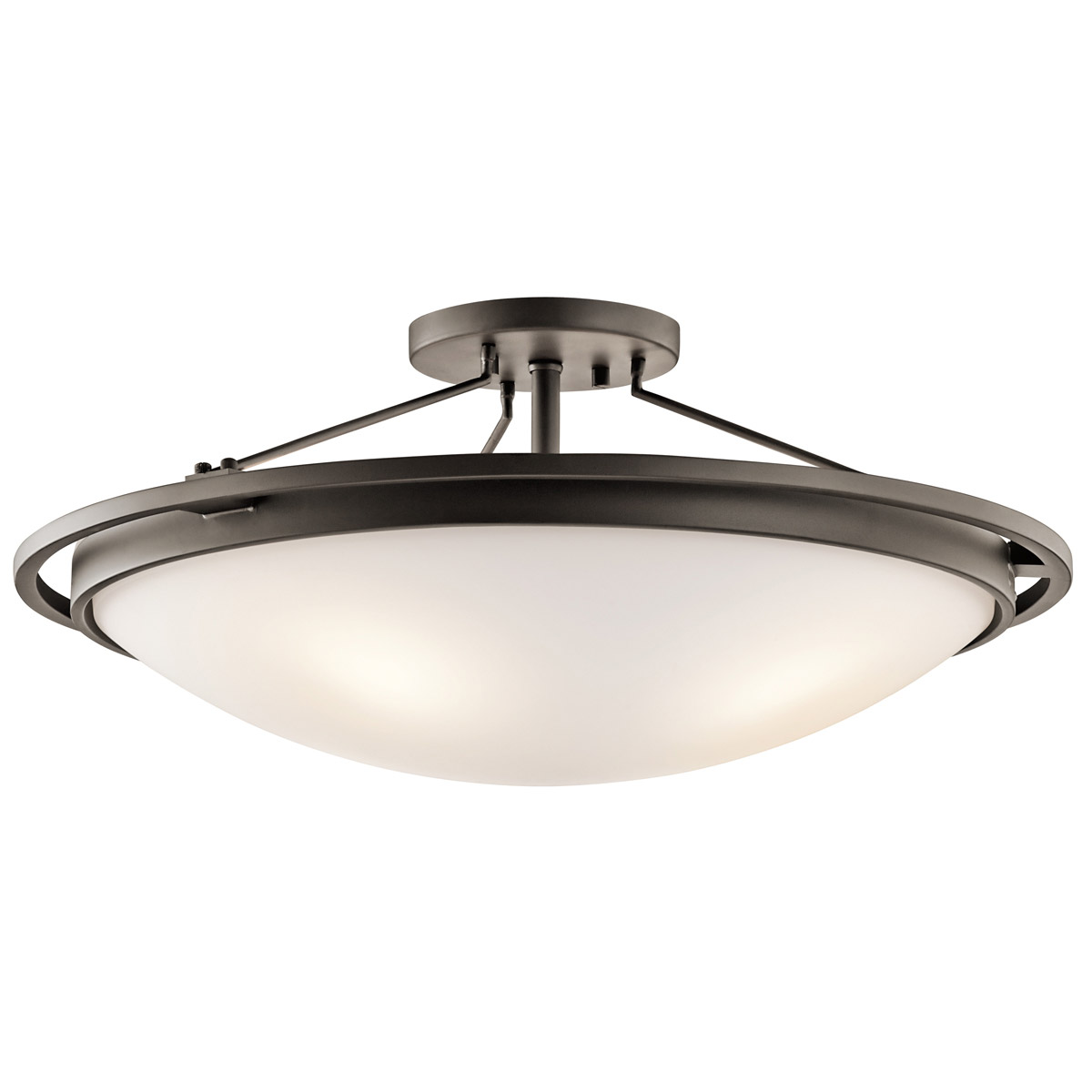 kichler 42025oz semi flush ceiling light