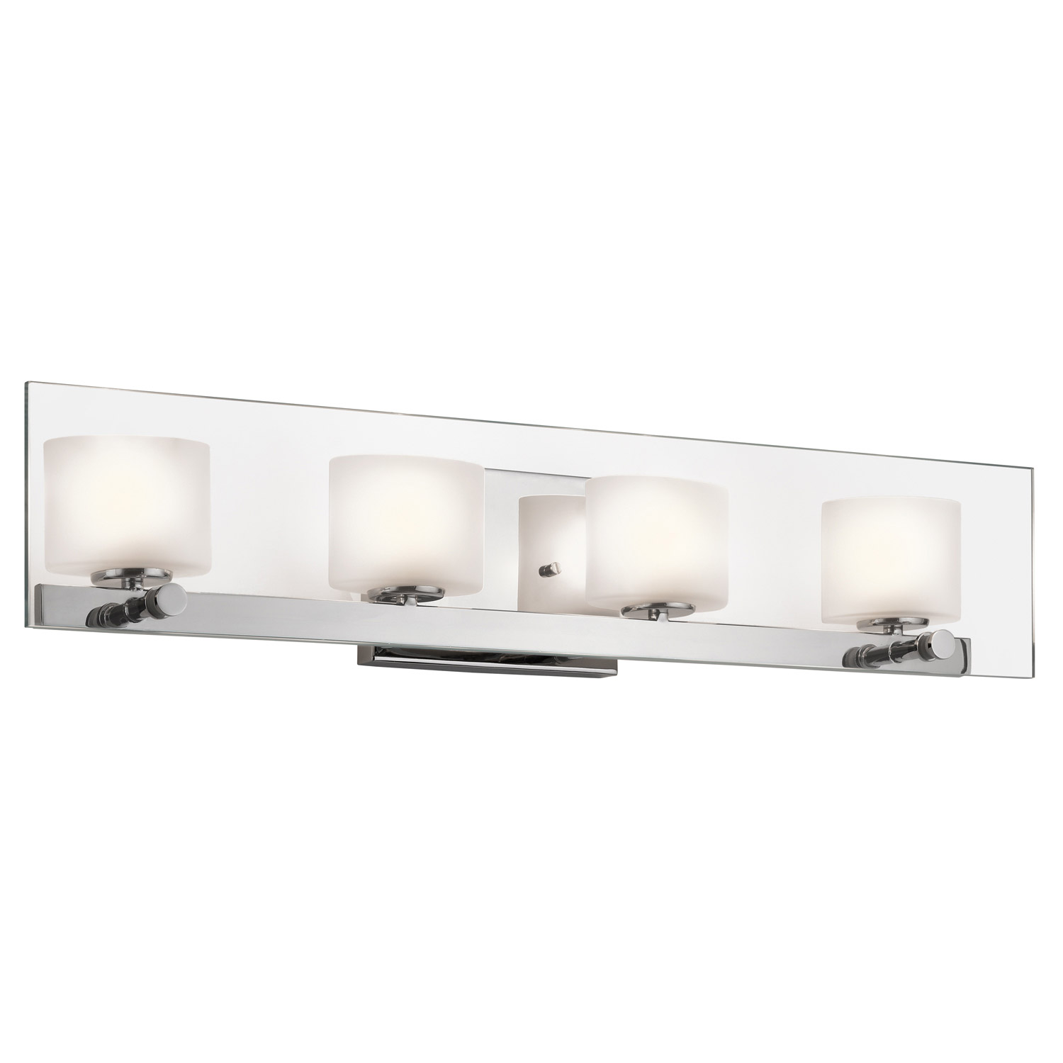 Bathroom Vanity Halogen Lights : Kichler 45173CH Como Halogen Bathroom Vanity Light