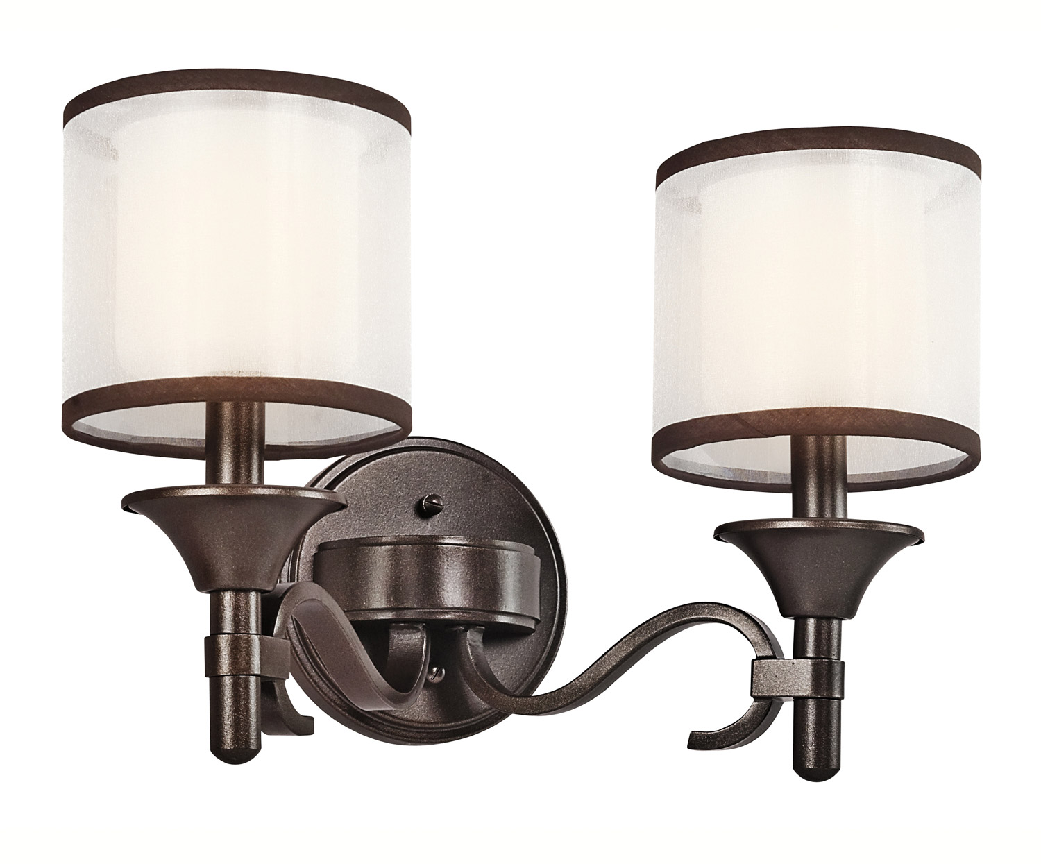 Vanity Lights Kichler : Kichler 45282MIZ Lacey Vanity Light