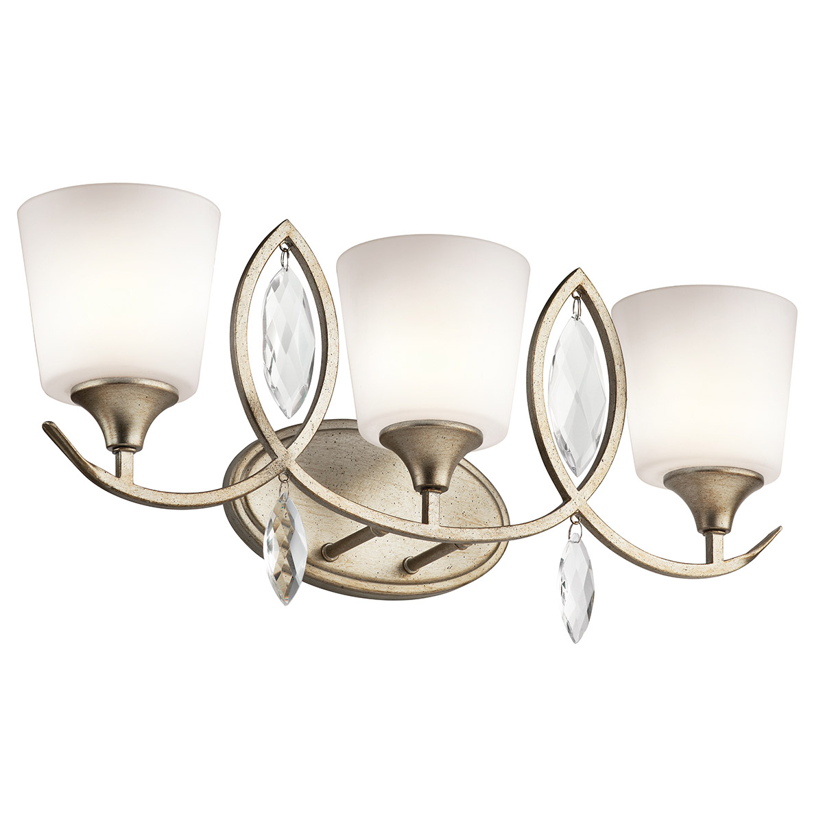 Vanity Lights Kichler : Kichler 45372SGD Casilda Bathroom Vanity Light