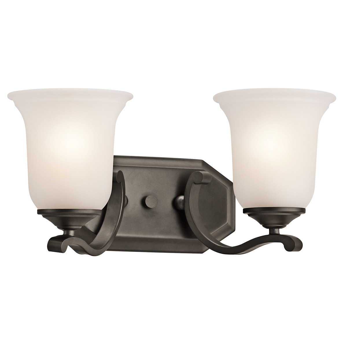 Kichler 45402OZ Wellington Square Bathroom Vanity Light