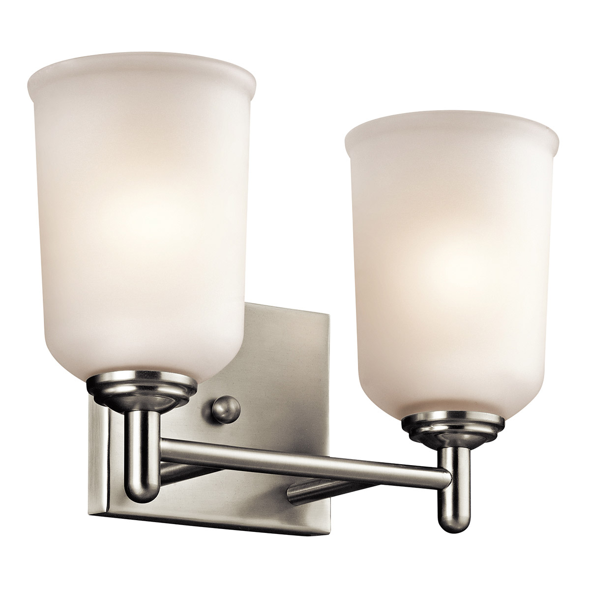 Vanity Lights Kichler : Kichler 45573NI Shailene Bathroom Vanity Light