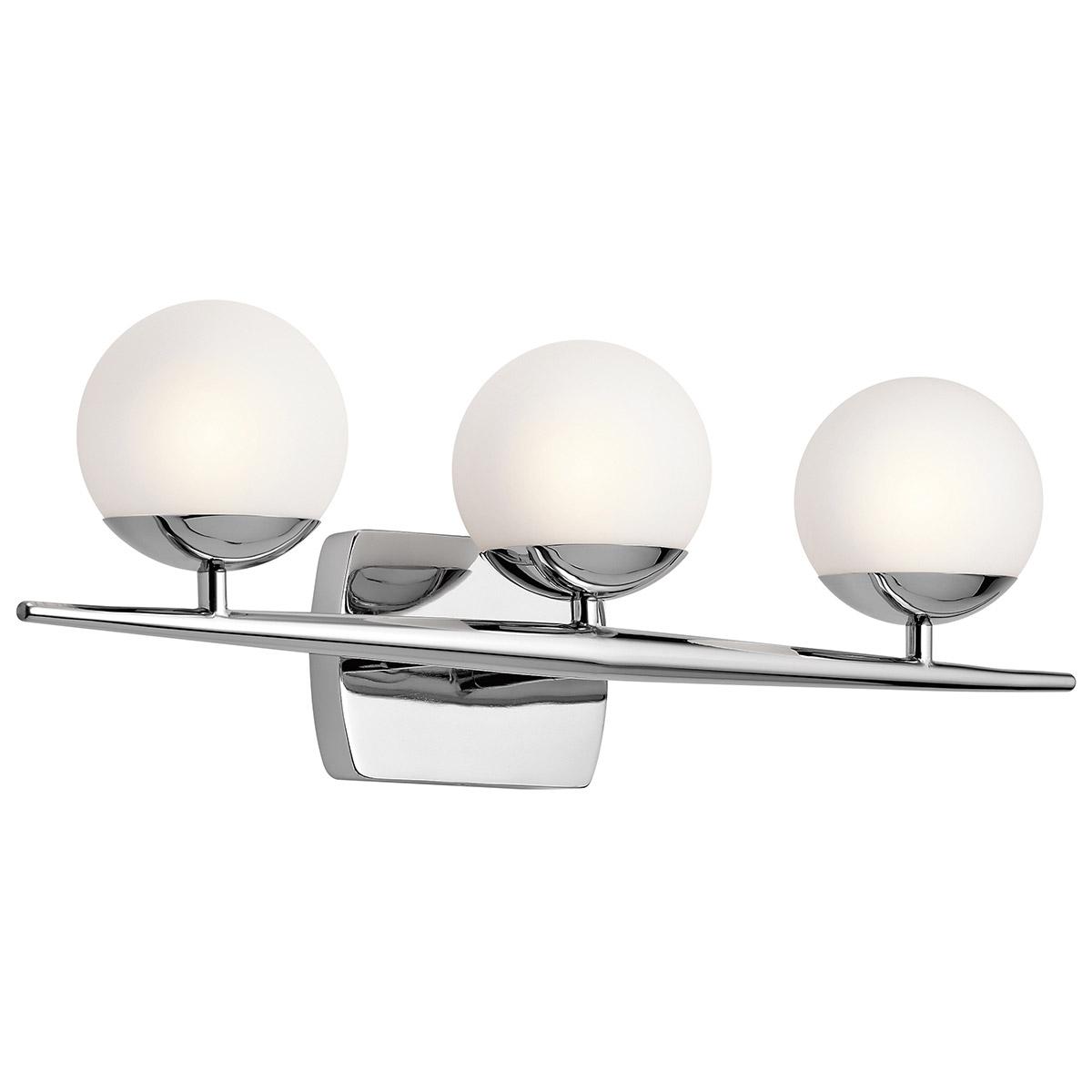Kichler 45582ch Jasper Halogen Bathroom Vanity Light