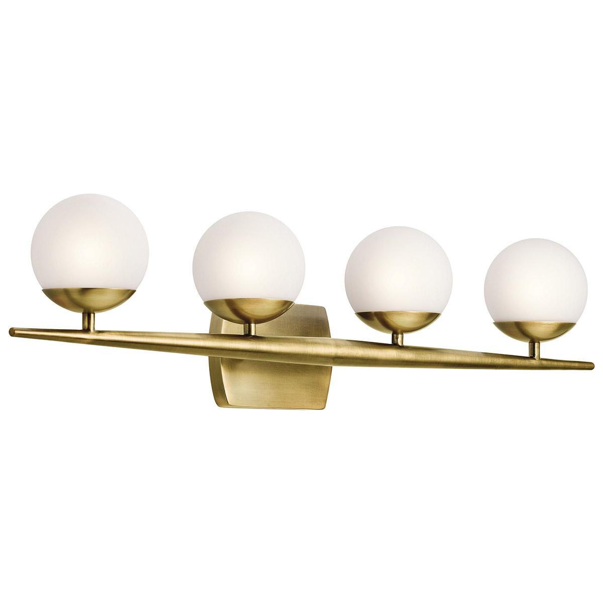 Kichler NBR Jasper Halogen Bathroom Vanity Light - Halogen bathroom vanity lights