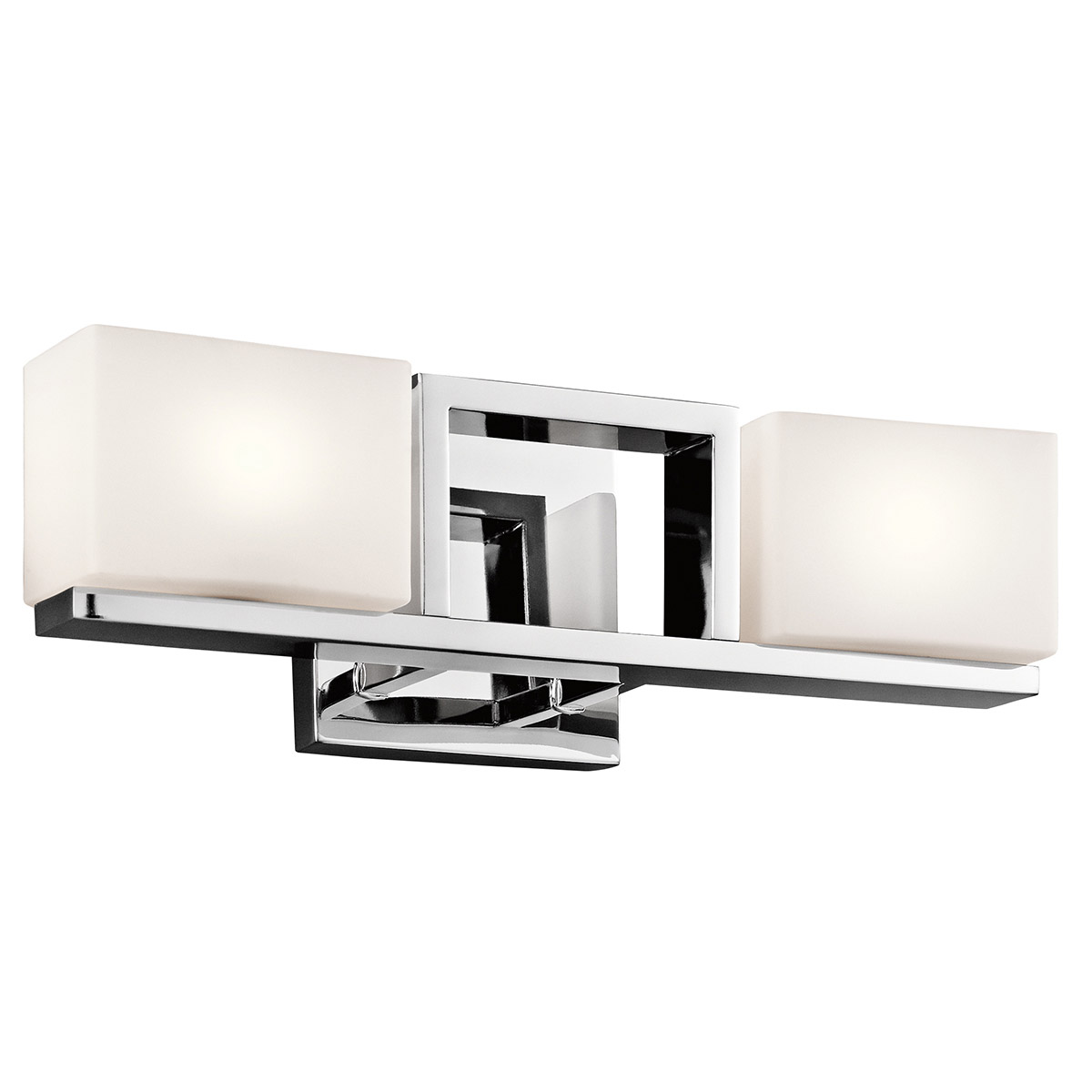 Bathroom Vanity Halogen Lights : Kichler 45602CH Keo Halogen Bathroom Vanity Light