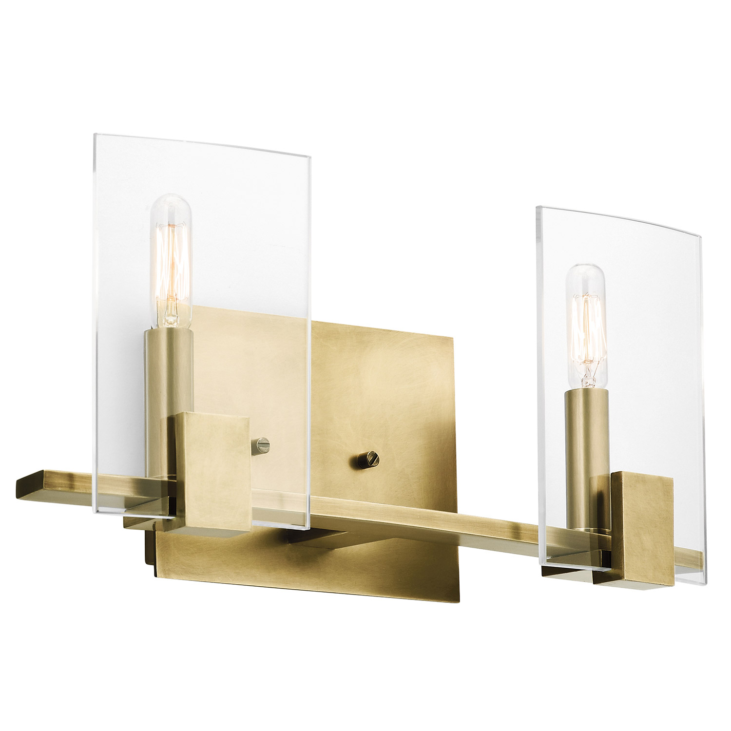 Vanity Lights Kichler : Kichler 45702NBR Signata Bathroom Vanity Light
