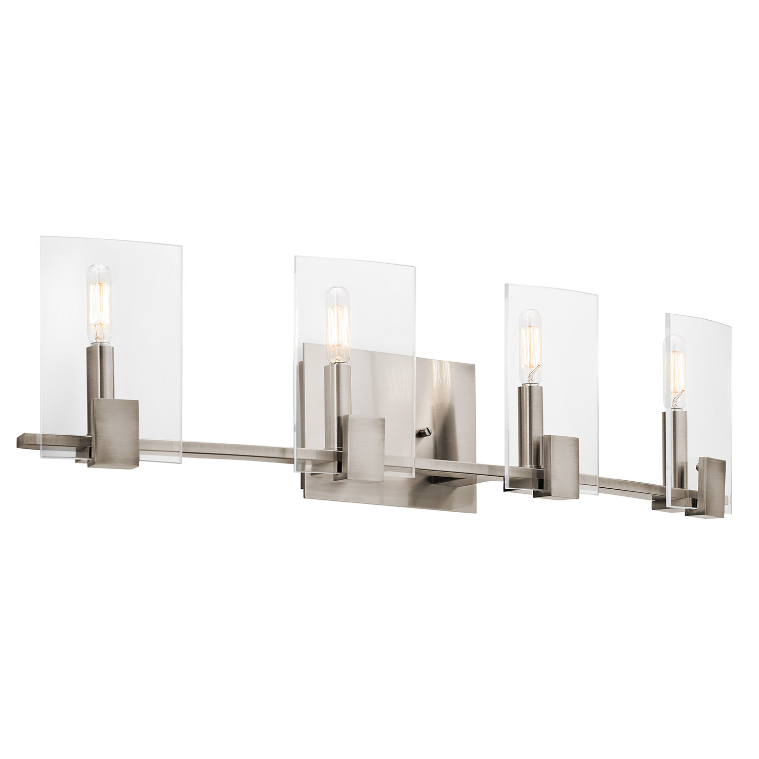 Vanity Lights Kichler : Kichler 45704CLP Signata Bathroom Vanity Light
