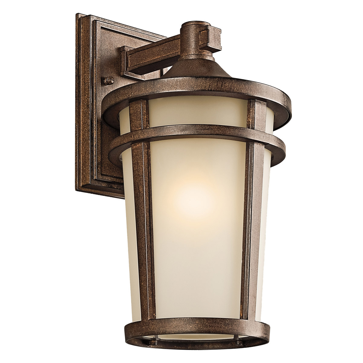 Kichler 49072BST Atwood Outdoor Wall Mount Lantern