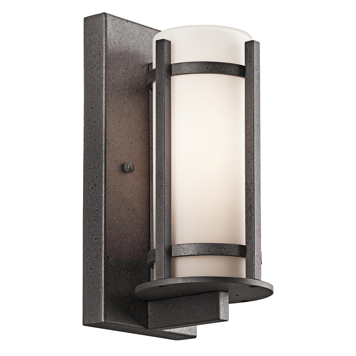 Wall Sconces And Matching Chandeliers : Kichler 49119AVI Camden Outdoor Wall Sconce