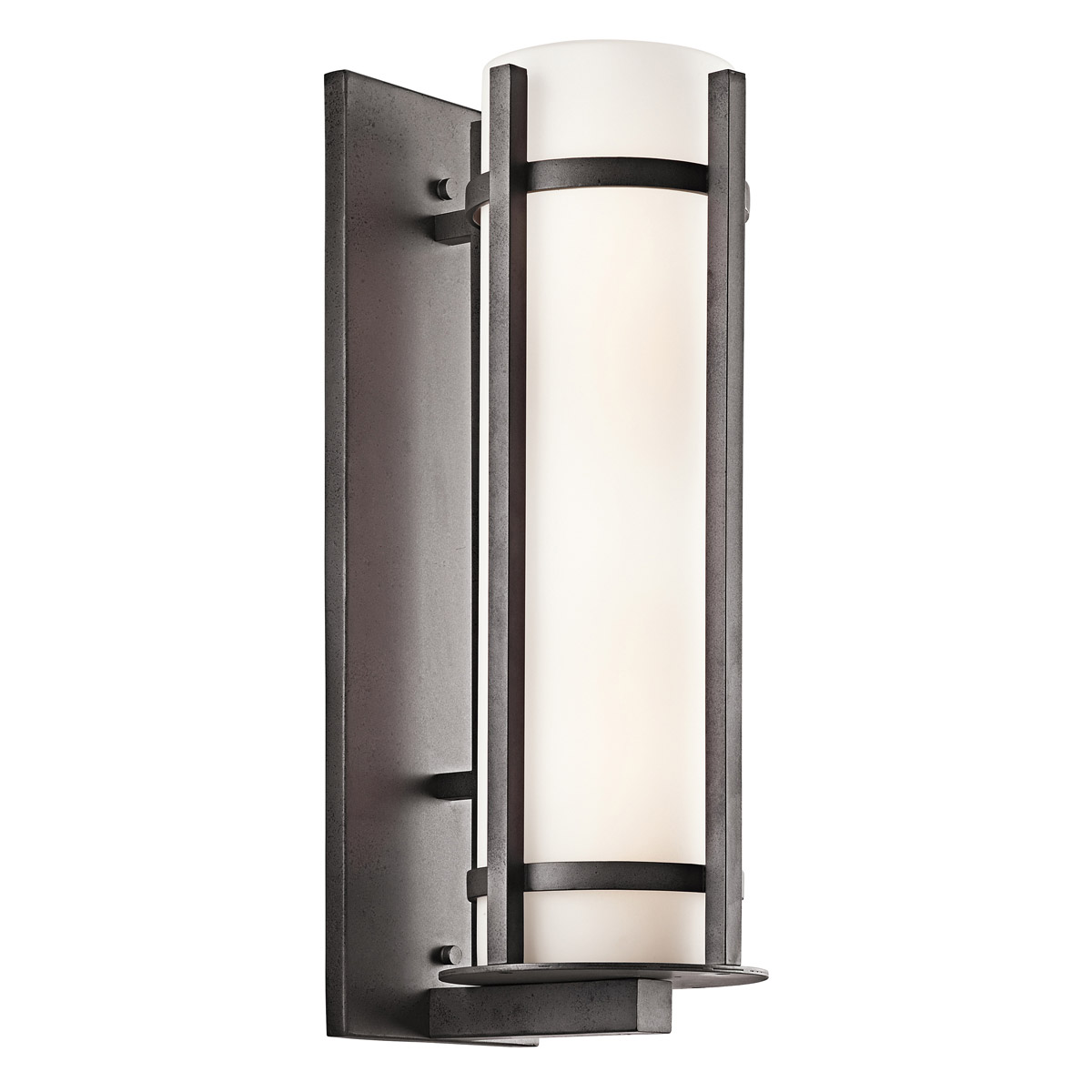 Wall Sconces Kichler : Kichler 49121AVI Camden Outdoor Wall Sconce