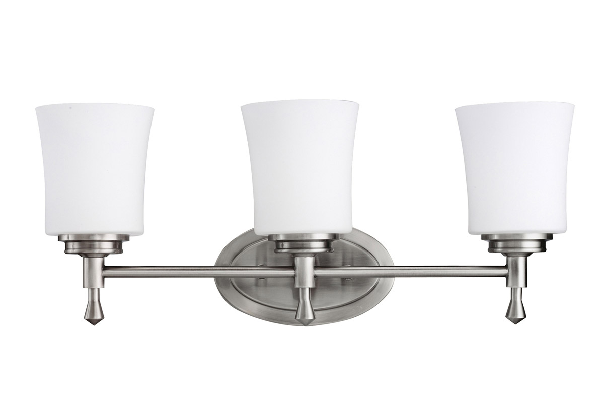 Vanity Lights Kichler : Kichler 5361NI Wharton Vanity Light