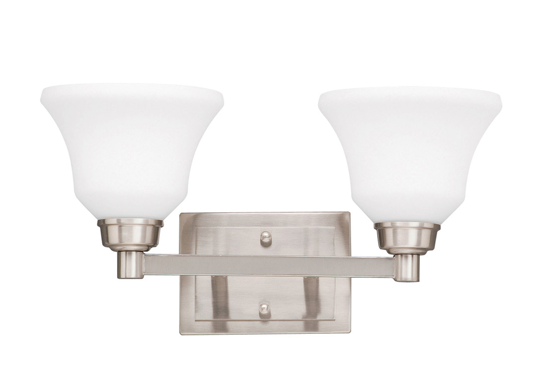 Vanity Lights Kichler : Kichler 5389NI Langford Vanity Light