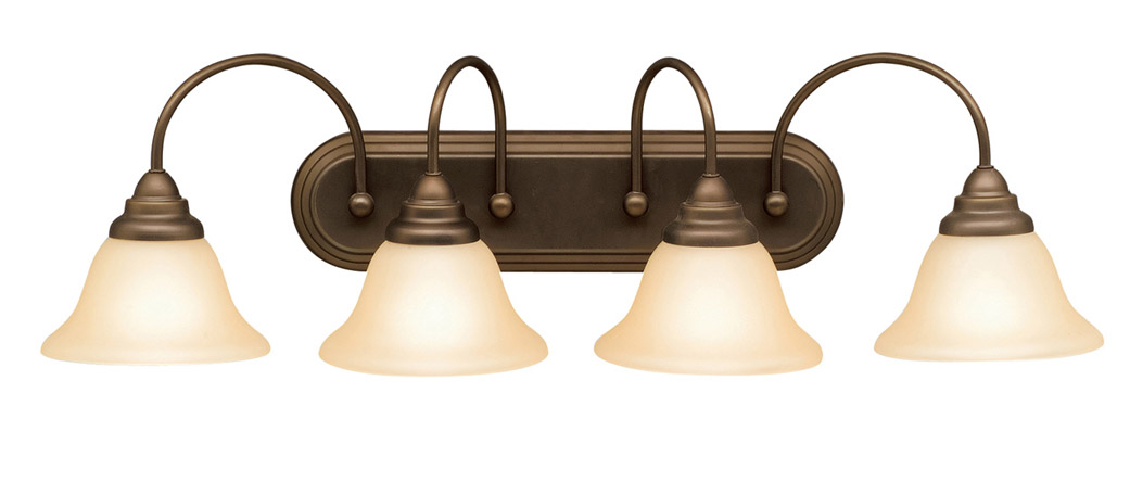 Vanity Lights Kichler : Kichler 5994OZ Telford Vanity Light
