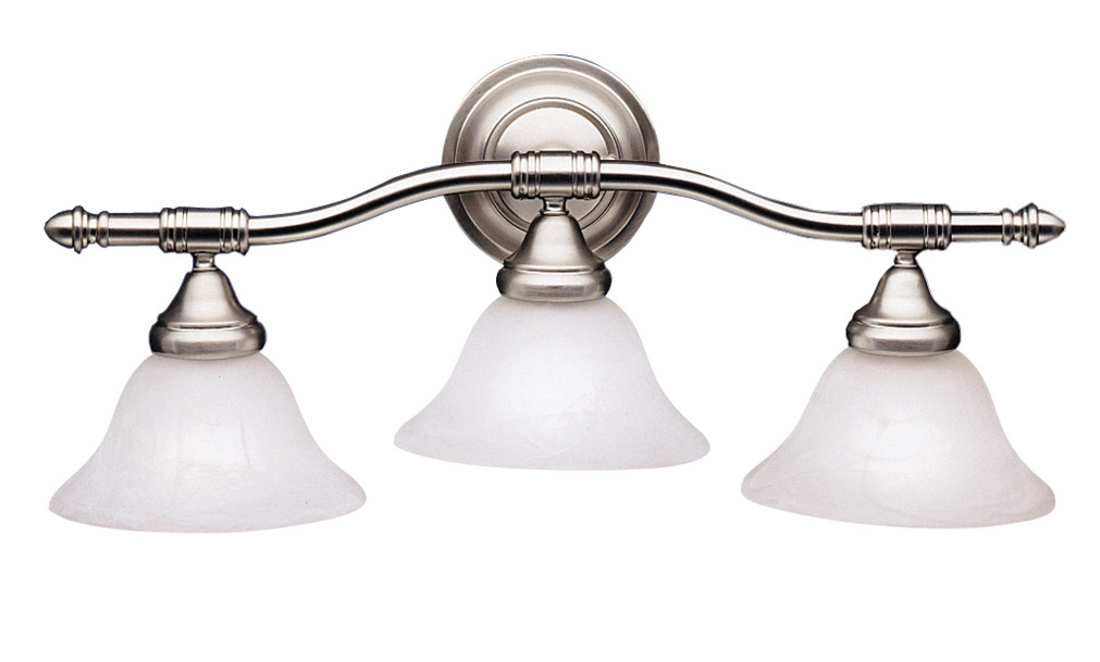 Vanity Lights Kichler : Kichler 6293NI Broadview Vanity Light