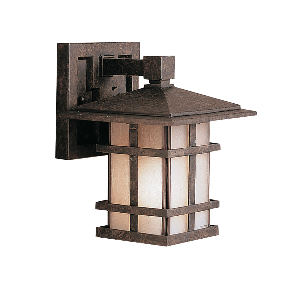 Kichler 9128AGZ Cross Creek Exterior Wall Mount Lantern