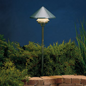 Transitional Six Groove 12V One Tier Landscape Path & Spread Light - Kichler 15011AZT