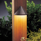 Transitional Six Groove 12V Mini Deck Light - Kichler 15065AZT