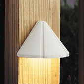 Transitional Six Groove 12V Mini Deck Light - Kichler 15065WHT