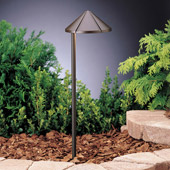 Transitional Six Groove 12V Side Mount Path & Spread Light - Kichler 15315AZT