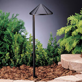 Transitional Six Groove 12V Side Mount Path & Spread Light - Kichler 15315BKT