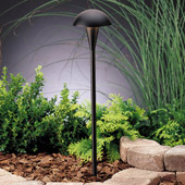 Contemporary Eclipse 12V Path & Spread Light - Kichler 15323BKT