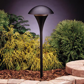 Contemporary Eclipse 12V Large Path & Spread Light - Kichler 15336BKT