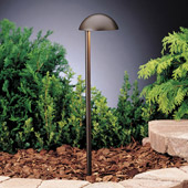 Contemporary Eclipse 12V Side Mount Path & Spread Light - Kichler 15423AZT