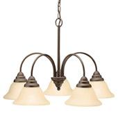 Transitional Telford Chandelier - Kichler 2076OZ