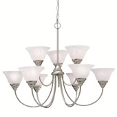 Transitional Telford Chandlier - Kichler 2077NI