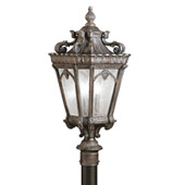 Traditional Tournai Outdoor Post Mount - Kichler 9558LD