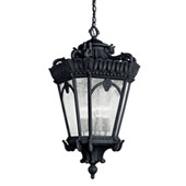 Traditional Tournai Outdoor Pendant 4 Light - Kichler 9564BKT