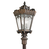 Traditional Tournai Outdoor Post Mount - Kichler 9565LD